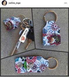 Tendance Sac 2018 : Description Porte-Clés Porte Jeton – Tuto Patron Co. Blog Couture, Diy Couture, Couture Sewing, Sewing Hacks, Sewing Crafts, Sewing Projects, Sewing Tips, Diy Crafts, Diy Keychain