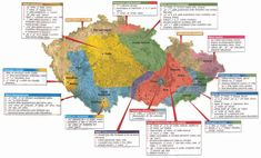 Perfektni mapa, nařečí 5 minutách. Aneb jak jako Moravák okamžitě poznat zkama přesně Češi só.