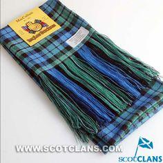 Clan MacCallum Wool Tartan Sash