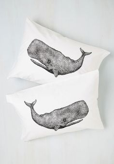 Worth Your Whale Pillowcase Set