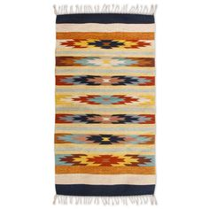 Found it at AllModern - Hand-Loomed Beige/Yellow Area Rug