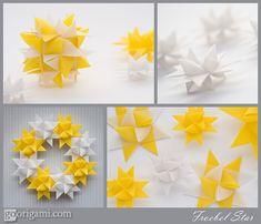 Froebel Star, aka German Star, Swedish Star, Danish Star and Moravian Star, video how-to