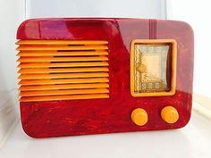 Antique Radio, Phonograph, Landline Phone, Art Deco, Clock, Radio Activity, Antiques, Music Boxes, Tvs
