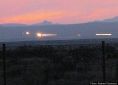 The Marfa Lights have baffled scientists since the first recorded sighting in 1883. Visible only on clear nights, the weird yellowish-green orbs float, bounce around, and vanish then reappear over the Mitchell Flats, just outside of Marfa, Texas. Explanations range from the mundane (mirages, car taillights) to the otherworldly (alien spacecrafts, displaced souls), but the fun of these inexplicable lights is certainly in the mystery.