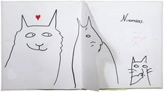 Dummy for 'There are Cats in This Book' by Viviane Schwarz