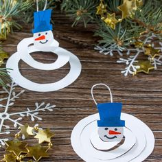 Winter Crafts For Kids, Winter Kids, Winter Art, Christmas Tree Colour Scheme, Colorful Christmas Tree, Winter Wonderland Christmas, Christmas Ornament Crafts, Winter Activities, Preschool Crafts