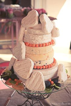 Cheese wheel wedding cake is one of the most unique alternatives to a traditional wedding cake. This idea is perfect for a vineyard or farm wedding. Cheese Tower, Traditional Wedding Cake, Cake Shapes, Farm Wedding, Wedding Ideas, Amazing Wedding Cakes, Wedding Cake Decorations, Wedding Candy, Pastry Cake
