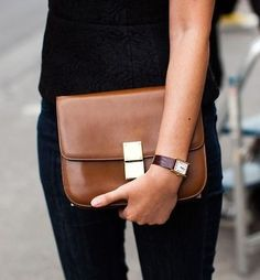 I'm not Céline addicted at at all but if I had to choose a Céline bag it would be the box bag in camel. Vintage please. And I don't mind to take the Cartier watch as well.