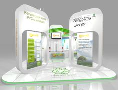 Exhibition Stand Design: Stand design for Eurocell at the RWM 2012 exhibition at NEC Birmingham www.ddex.co.uk