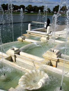 James Scott Memorial Fountain, Belle Isle Detroit MI