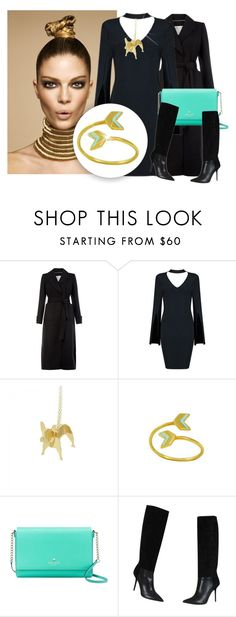 """""""SHOP - Virginie Millefiori Bijoux"""" by ladymargaret ❤ liked on Polyvore featuring Monsoon, Kate Spade and Burberry"""