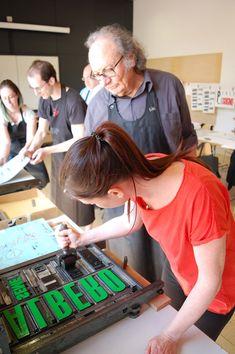 """Letterpress"", workshop by Officina Typo, Mart Rovereto, May 2018 Workshop Ideas, Letterpress Printing, Typography, Student, Learning, School, Prints, Museum, Art"