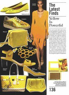 #V73 Cruise Nylon bag su Vogue Accessory di Maggio #borsa #borse #bag #bags #may #color #colors #yellow #giallo #spring #summer