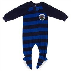 Navy and Blue Striped Blanket Sleeper for Boys,    #,    #81567