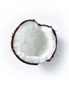 White coconut fresh clean