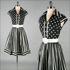 1950's vintage R originals dress by Mill Street Vintage
