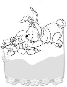 Dibujos para Colorear Winnie the Pooh 14