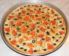Focaccia cu rosii masline si oregano Quiche, Appetizers, Pizza, Bread, Vegan, Cooking, Breakfast, Desserts, Food