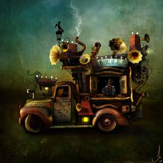 Magical Digital Arts By Alexander Jansson