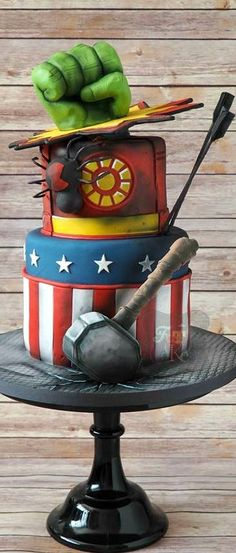 Image result for avengers cake - Visit to grab an amazing super hero shirt now on sale!