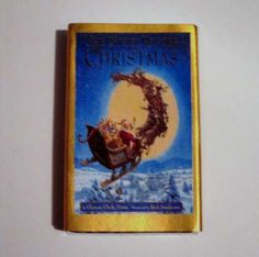 Night Before Christmas - Book Cover Literary Matchbook