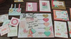 Love the Stampin' Up! In colors for color combo inspiration!