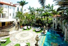 mansion de versace en miami beach - Buscar con Google