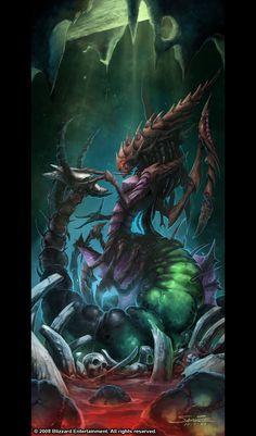 StarCraft II Kerrigan Queen of Blades Polystone Statue ...
