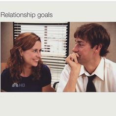 26 Times Jim and Pam's Relationship Was Way, Way Too Real