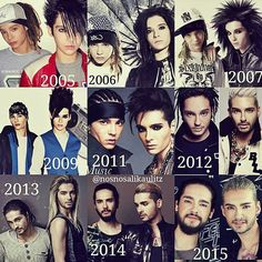 Tokio hotel Bill Kaulitz and Tom Kaulitz