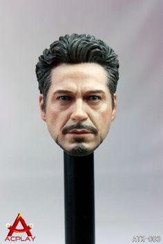 "ACPLAY 1/6 scale Hot Male Tony Head sculpt 3.0  for 12"" figure toys hobbies  #ACPLAY"