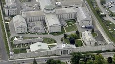 An aerial view of the Kingston Penitentiary. The government announced Thursday it will be closed over the next two years. The Regional Treat...