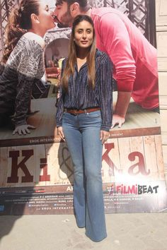 Rock Bell-Bottoms Just Like Kareena Kapoor 7 Stylish Looks Cute Preppy Outfits, Casual Outfits, Fashion Outfits, Bollywood Celebrities, Bollywood Fashion, Western Outfits, Western Wear, Priyanka Chopra Wedding, Kareena Kapoor Pics
