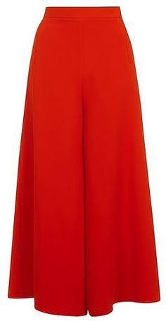 e4cc54cc48b8 Womens poppy wide leg palazzo trousers from Topshop - £55 at  ClothingByColour.com