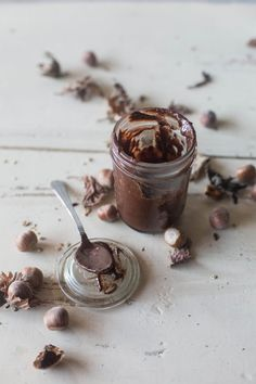 How to Make Hazelnut Chocolate Spread #vegan #glutenfree | Hortus Natural Cooking