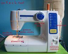 macchina da cucire: questa sconosciuta!