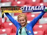Fiesta en Varsovia por las semifinales de la Eurocopa