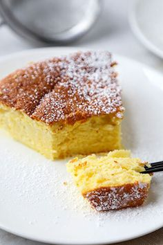 This is an easy and delicious recipe for traditional Japanese cheesecake. It's light and airy and has just the right amount of sweetness!