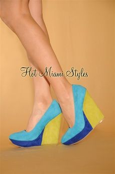 $49.99: Infuse some color into your everyday routine with this pointy wedge pump.