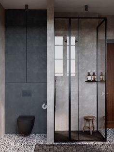 Gingko Leaf on Behance Paper Floor Lamp, Modern Wall Sconces, Modern Dresser, Loft, Living Room Modern, Bathroom Interior, Modern Interior, Interior Design, Small Bathroom