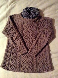Ravelry: Project Gallery for St. Brigid pattern by Alice Starmore