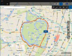 ASCII.jp:知ってた? Windows 10「マップ」アプリで道順をなぞると距離が計測できる|ズバッと解決! Windows 10探偵団