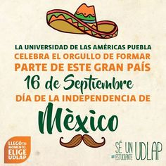 ¡Viva, México! ¡Viva México! ¡Viva México!  Les deseamos los mejores momentos en compañía de su familia y amigos.