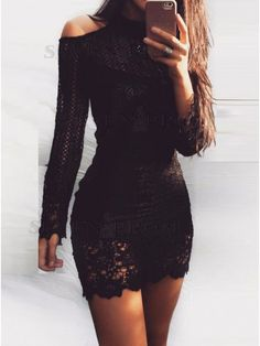 65 Trending and Pretty Little Black Dress Outfits Ideas - Fashionetter Little Black Dress Classy, Little Black Dress Outfit, Black Dress Outfits, Lace Outfit, Lace Dress Black, Classy Dress, Sexy Dresses, Cute Dresses, Fashion Dresses