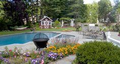 Landscape pool, spa and garden design