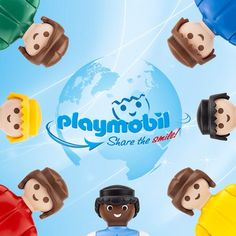 40 years ago, PLAYMOBIL figures started to share their smile all around the globe! #ShareTheSmile and celebrate with us! - Save the date: Saturday,  September, 13 | #PLAYMOBIL #ShareTheSmile