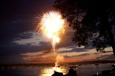 Fourth of July in the Brainerd Minnesota Lakes area.
