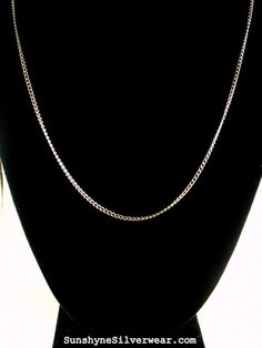 FREE BRAND NEW THIN SiLVERPLATE SiLVER CHAIN.