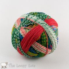 (1701) Parrot in Zauberball Starke 6 from Skacel at The Loopy Ewe ($29.95)