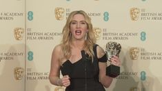 She's just won her third BAFTA 20 years on from her first win - then she delivers this inspiring speech to young women around the world. Take a bow. Report b...